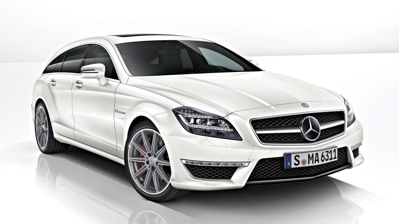 Mercedes-Benz CLS 63 AMG 4MATIC S-Modell Shooting Brake