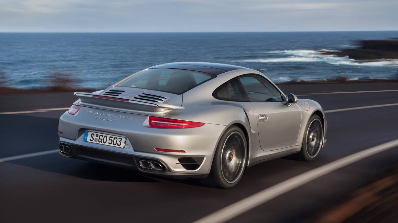 Porsche 911 Turbo S Coupé
