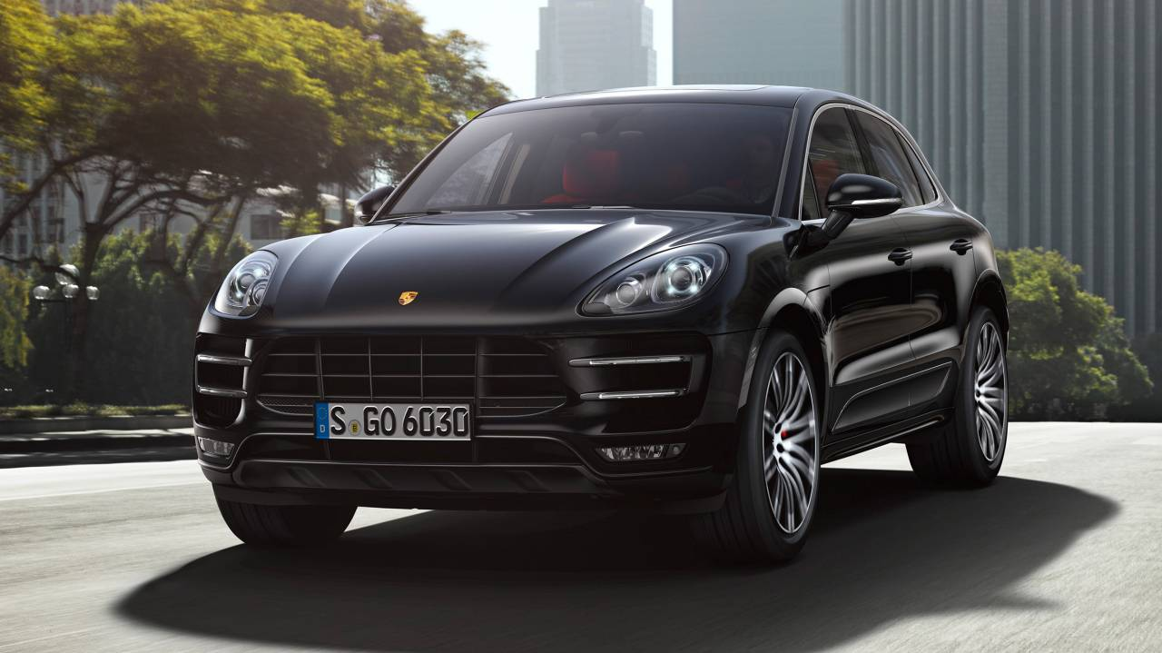 Porsche Macan Turbo SUV (294 kW / 400 PS), 7-Gang Automatik (PDK) (seit April 2014)