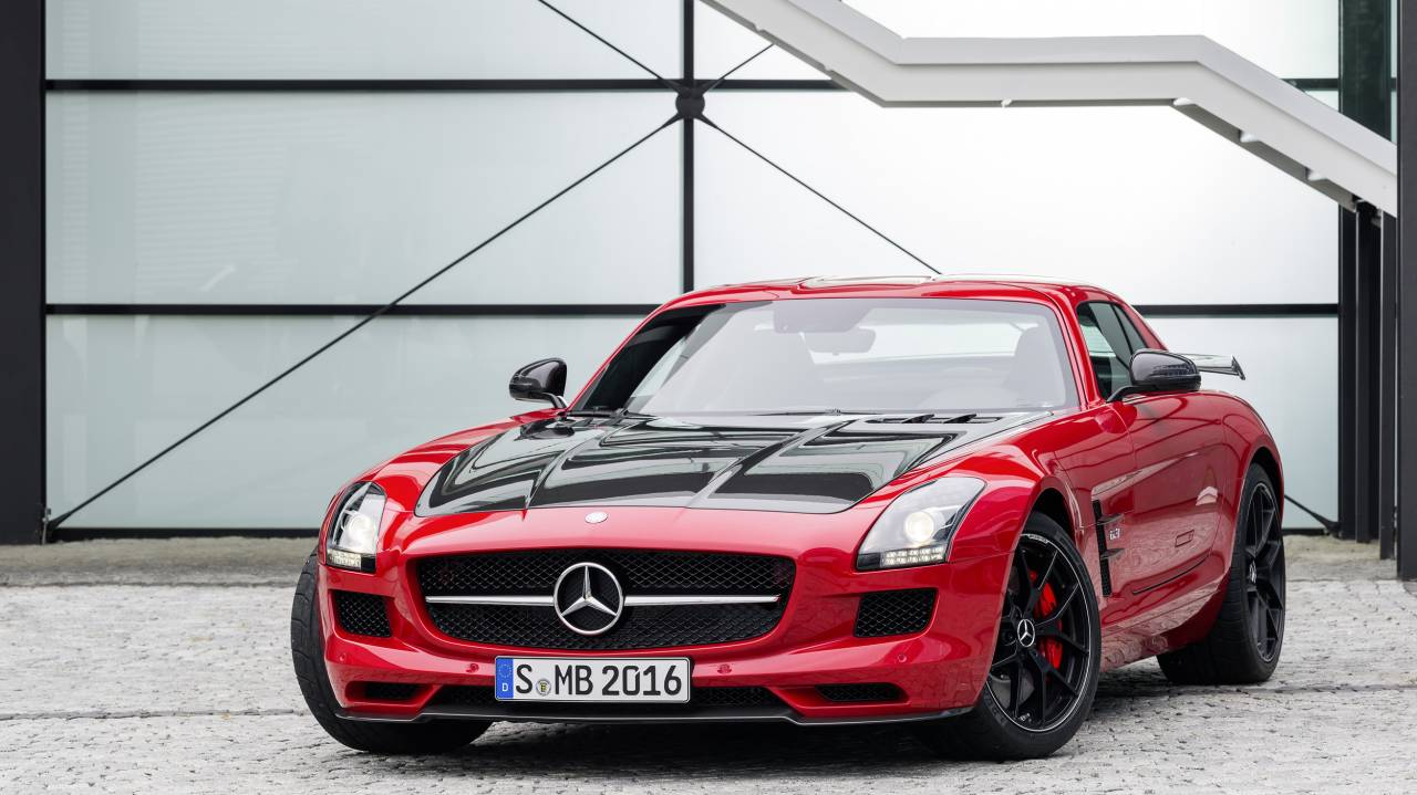 Bilder zum Mercedes-Benz SLS AMG GT FINAL EDITION