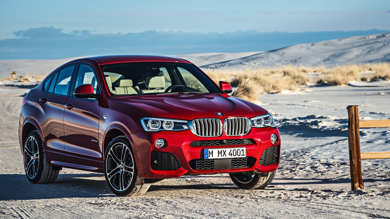 Bilder zum BMW X4 Sports Activity Coupé (2014)