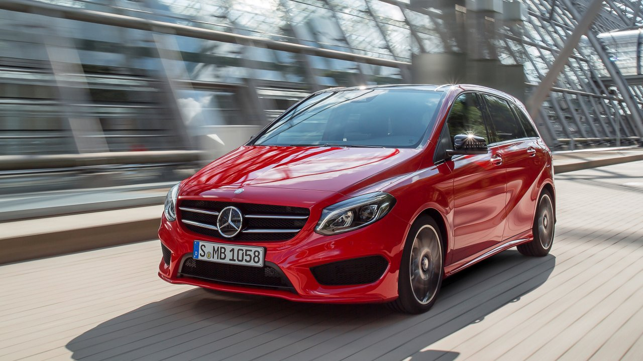Mercedes-Benz B 250 4MATIC, AMG Line (2014)