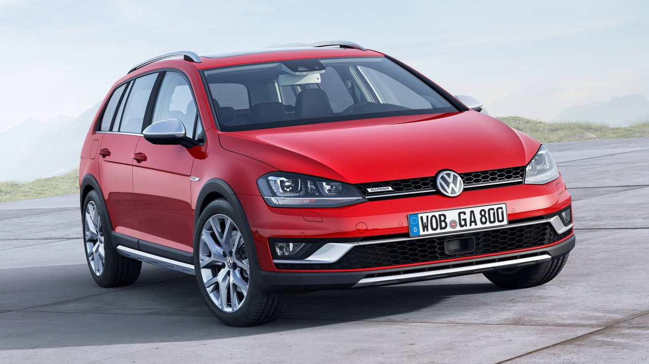 VW Golf Alltrack 2.0 TDI 4MOTION (2015)