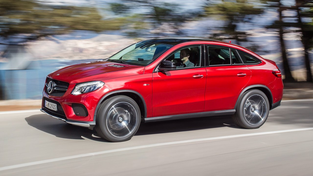 Mercedes-Benz GLE Coupé 450 AMG 4MATIC (2015)