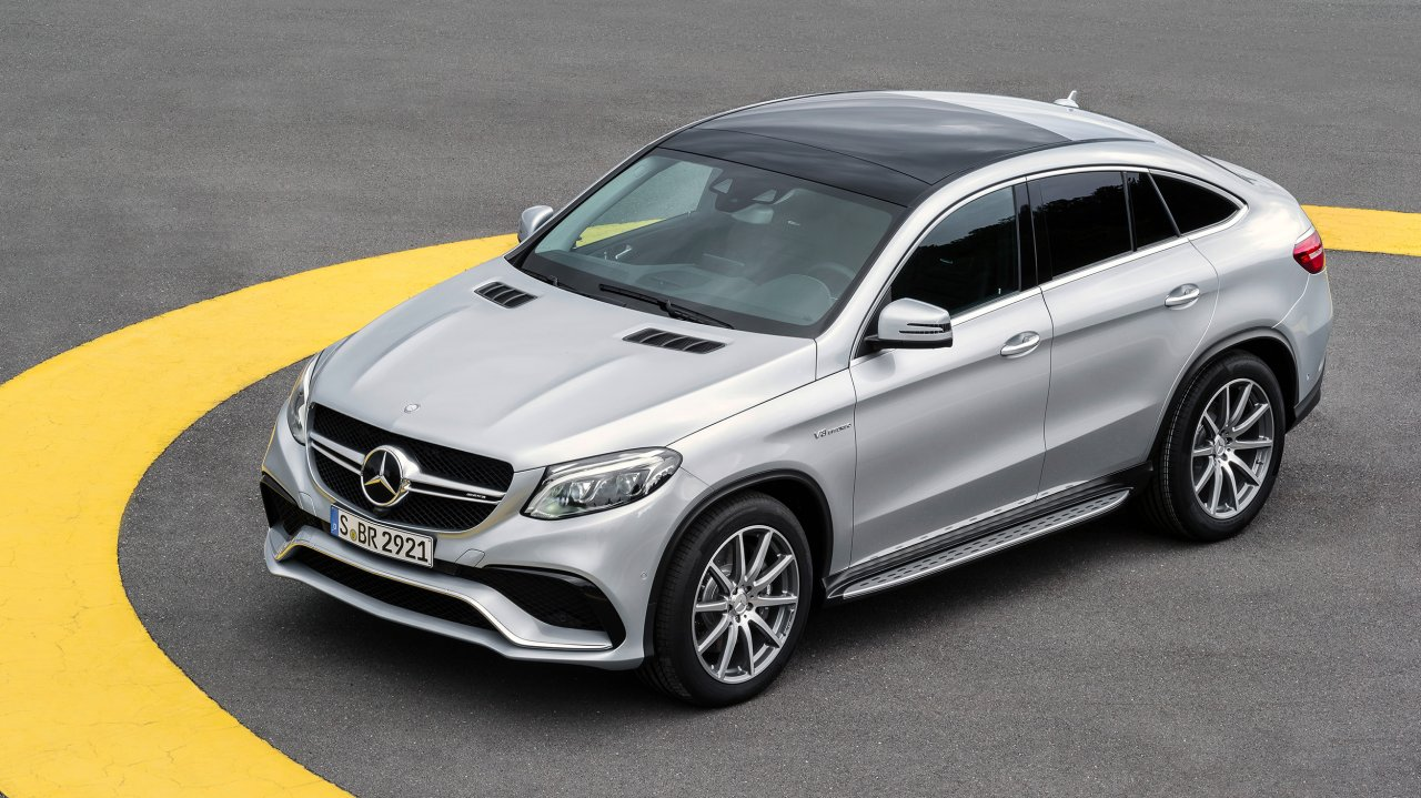 Mercedes-AMG GLE Coupé 63 AMG 4MATIC (2015)