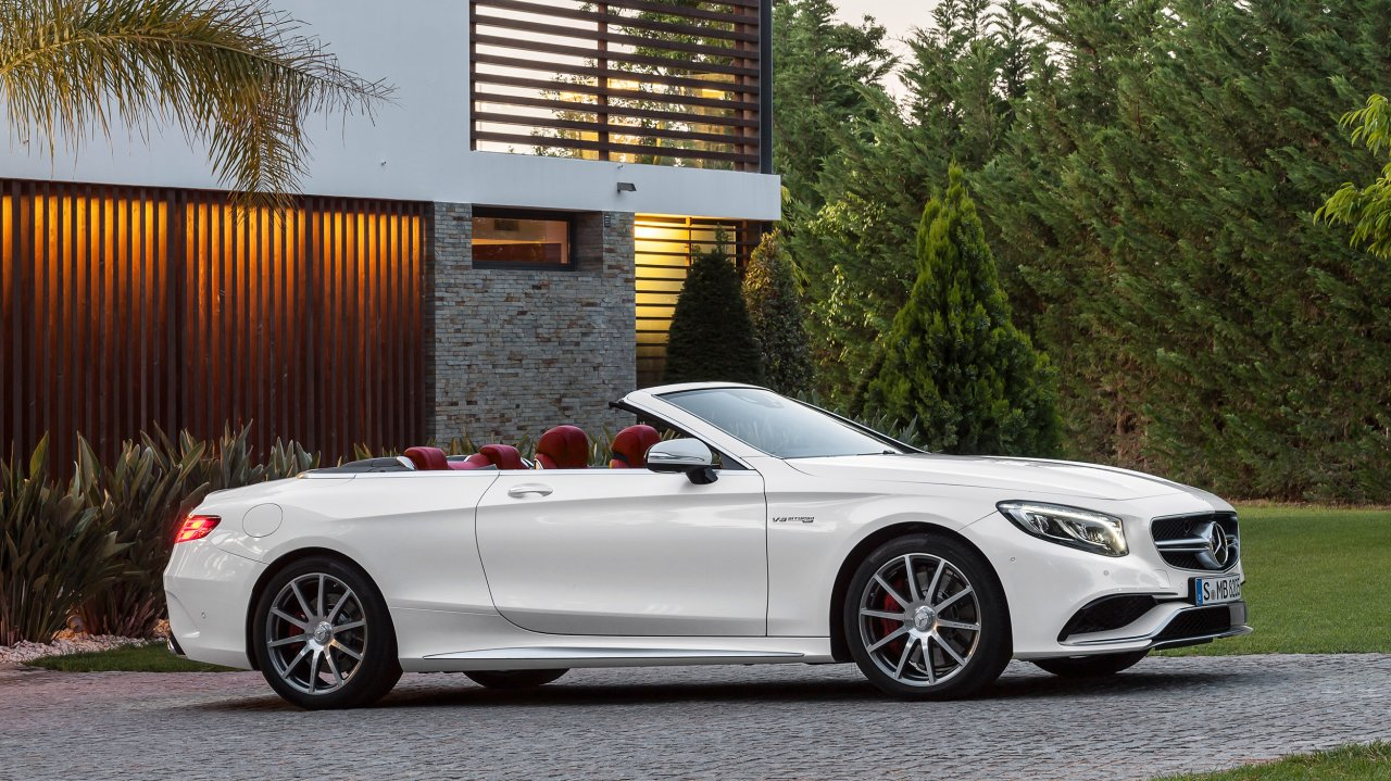 Mercedes-AMG S 63 4MATIC Cabriolet (2016)