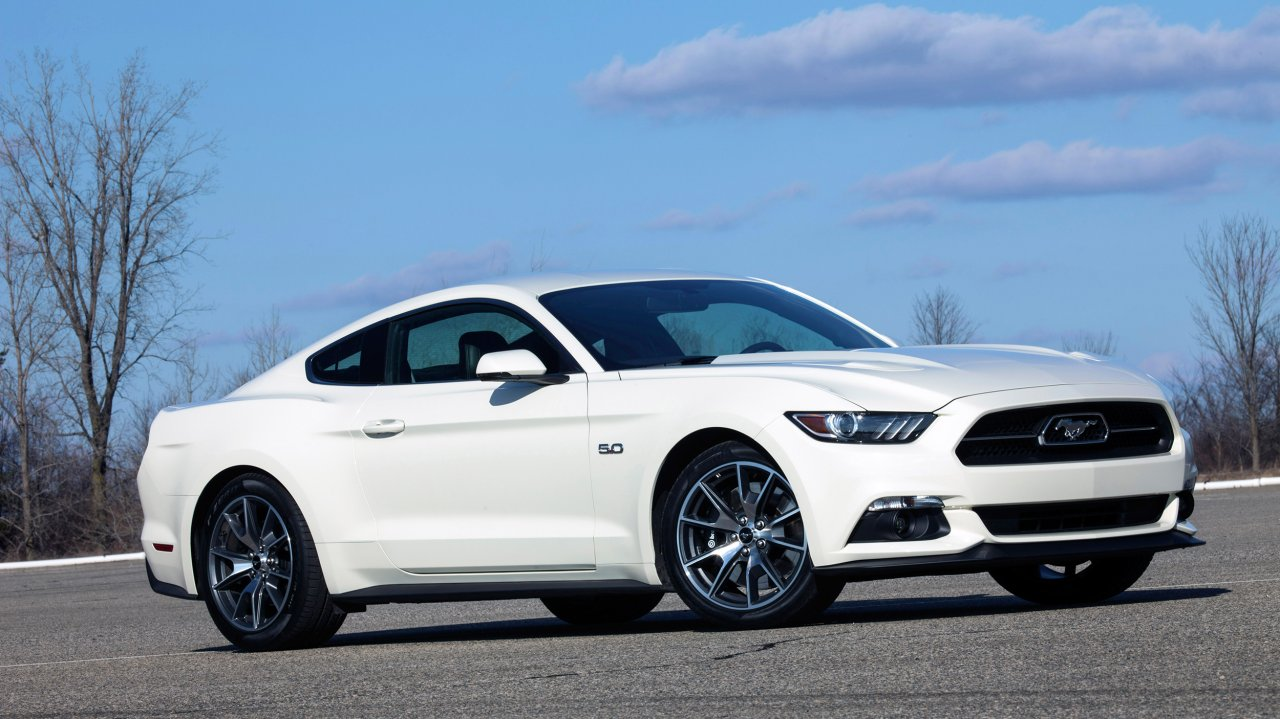 Ford Mustang GT 50 Years Edition (2015)