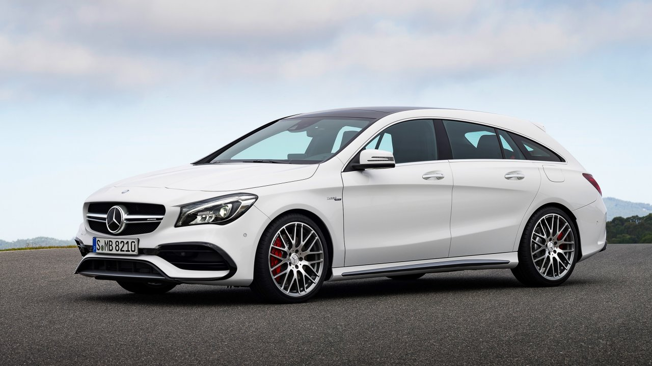 Mercedes-AMG CLA 45 Shooting Brake (2016)