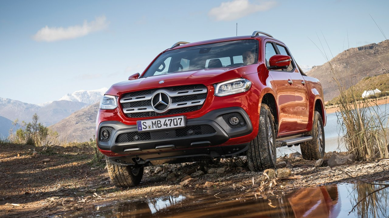 Bilder zum Mercedes-Benz X-Klasse Pick Up (2017)