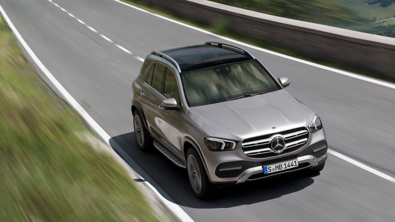 Bilder zum Mercedes-Benz GLE Off-Roader (2019)