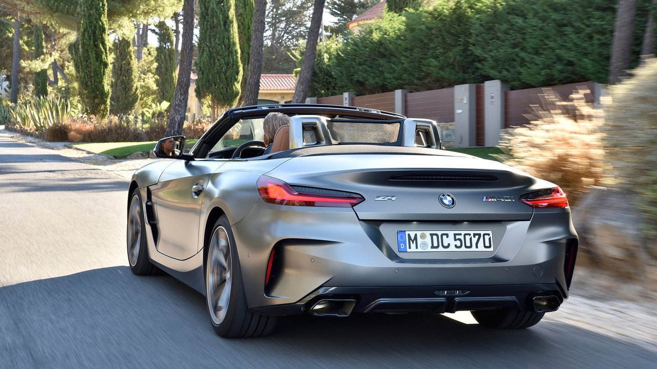 BMW Z4 M40i xDrive Roadster (2019)