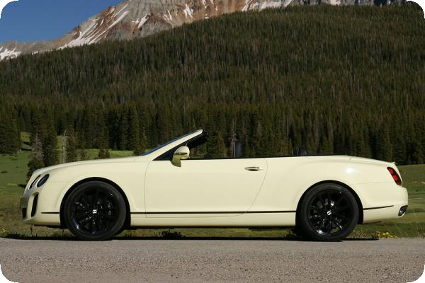 Bentley Continental GTC Supersports Convertible