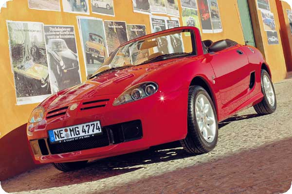 Bilder zum MG TF Roadster