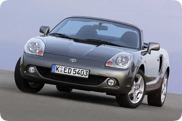 Bilder zum Toyota MR-2 Roadster
