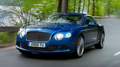 Bilder Bentley Continental GT Speed GT (460 kW / 625 PS), 8-Gang Automatik (von Oktober 2012 bis Mai 2014)