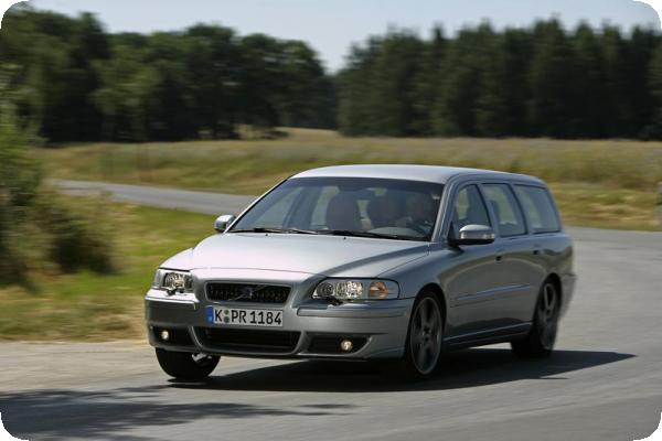 Sportversion V70 R mit 300 PS