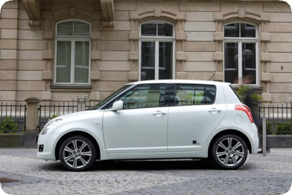 Bilder zum Suzuki Swift Black and White